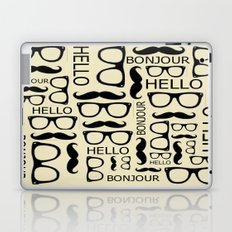 Hello, Bonjour Laptop & iPad Skin