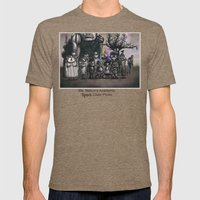 Ms. Nebun's Academic Spook Class Photo Mens Fitted Tee Tri-Coffee SMALL