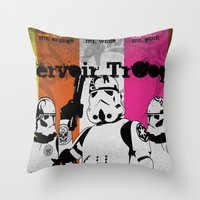 ReServoir TrOopers Throw Pillow
