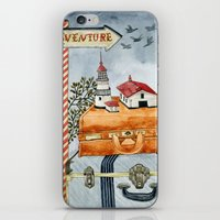 Suitcases Are Ready iPhone & iPod Skin