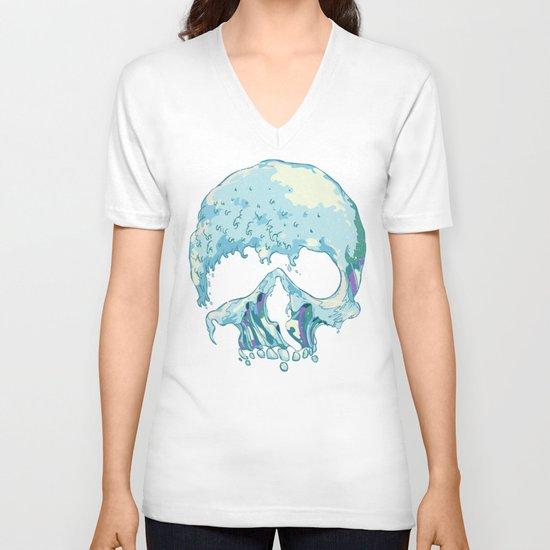 Silent Wave V-neck T-shirt