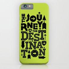 Green Journey Quote iPhone 6s Slim Case