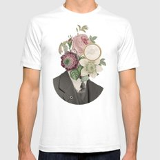 True Affection SMALL White Mens Fitted Tee