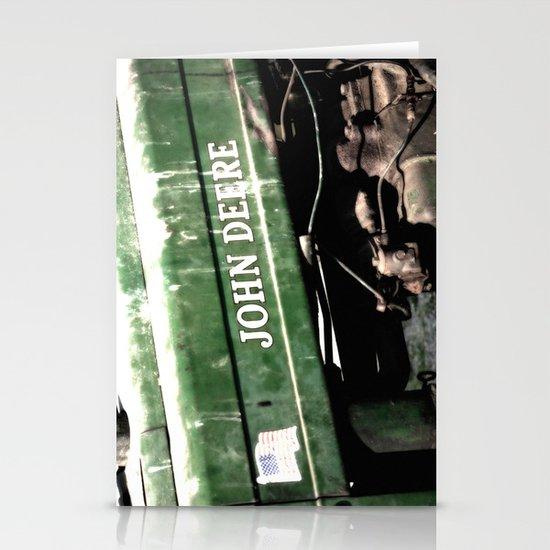 John Deere Stationery Card