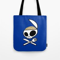 Zombie nation meal time Tote Bag