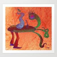 Where Are We Going Maste… Art Print
