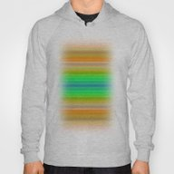 Bright Lined Autumn Colo… Hoody