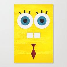 Minimal Sponge Canvas Print
