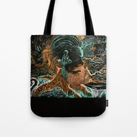 Glow Worms Tote Bag