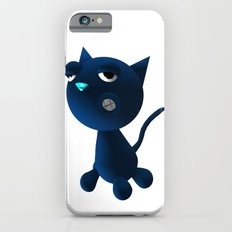 Light Blue Cat Slim Case iPhone 6s