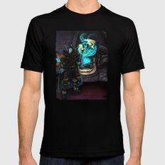 At the Forge Black SMALL Mens Fitted Tee