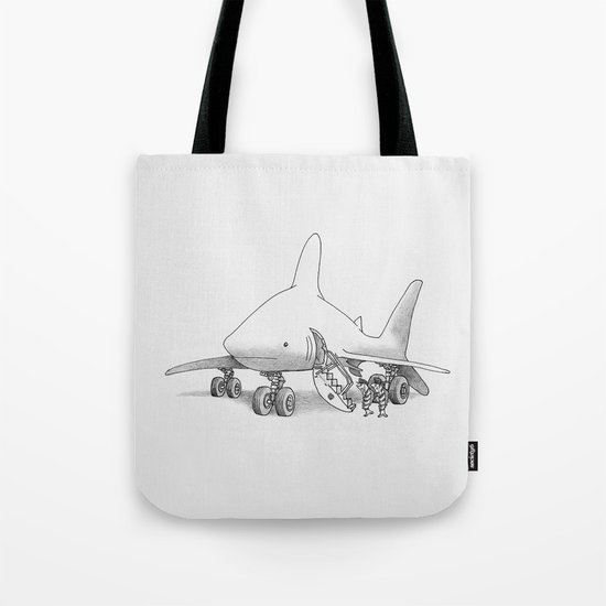 Pilot Fish Tote Bag