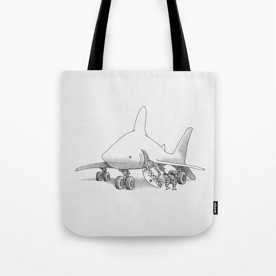 Pilot Fish Tote Bag