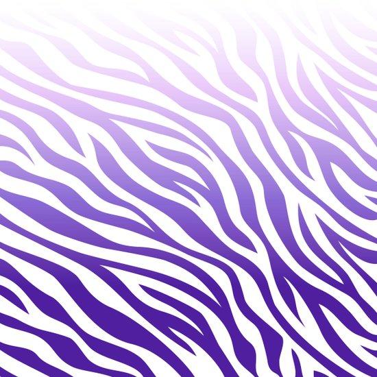 print - purple fade Art Print