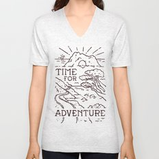 Time For Adventure Unisex V-Neck