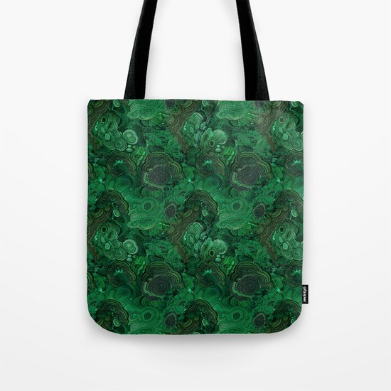 malachite Tote Bag