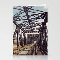Train Bridge 3 Stationery Cards
