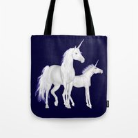 FANTASY - Unicorns Tote Bag