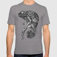 Chameleon  Mens Fitted Tee Tri-Grey SMALL