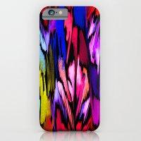 Feather Rainbow iPhone 6 Slim Case