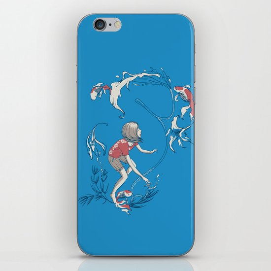 FISH AND WATER iPhone & iPod Skin