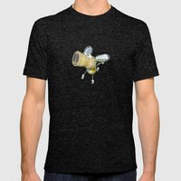 Tipsy Pig Mens Fitted Tee Tri-Black SMALL
