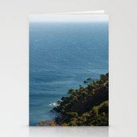 Sea landscape 1766 Stationery Cards