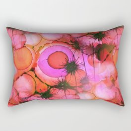 Rectangular Pillow - Palm Trees on Sunset Stains - Kirsten Star