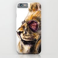 iPhone & iPod Case featuring LionO by PawixZkid