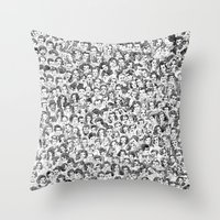 Old Hollywood Throw Pillow