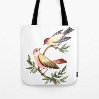 Bird lovers Tote Bag