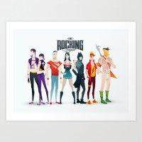 the rocking league Art Print