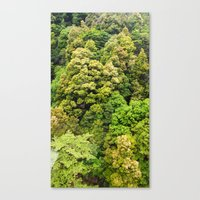 Itsukushima Forest Canvas Print