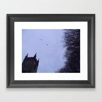 Winter Gothica Framed Art Print