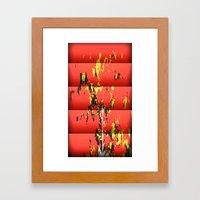 Red Power Framed Art Print