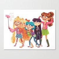 Sailor Selfie Canvas Print