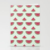 Watermelon Love Stationery Cards