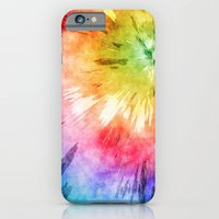 Tie Dye Watercolor iPhone 6 Slim Case