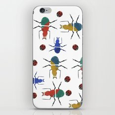 playful insects iPhone & iPod Skin