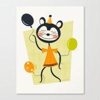 Bouncy Balloons  Canvas Print