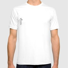 i said throw me in the trash Mens Fitted Tee SMALL White