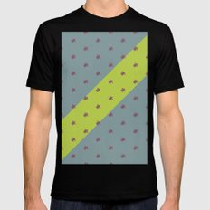 Crossover SMALL Black Mens Fitted Tee