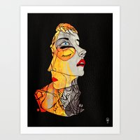 The Two Faced Kind Art Print