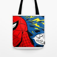 The Spidey Sense Tote Bag
