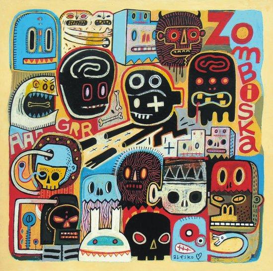 ZOMBISKA Art Print
