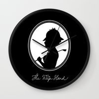 The Whip Hand Wall Clock