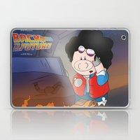 Back to the Future Laptop & iPad Skin