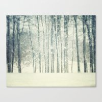 The Blizzard  Canvas Print