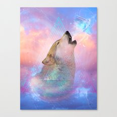 Dream By Day (Wolf Dream… Canvas Print