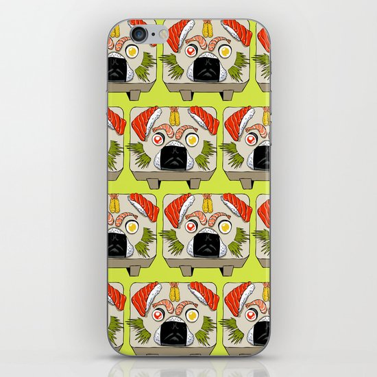 Pug Sushi  iPhone & iPod Skin